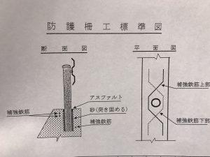 防護柵 図面