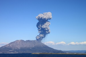 桜島 噴火