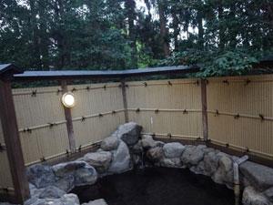 庭園工事 露店風呂の周り