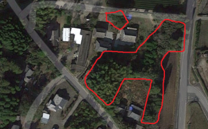 Googleマップ 伐採地理