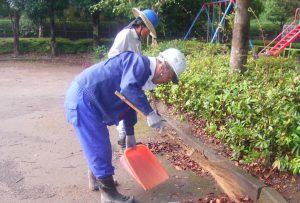 公園清掃1