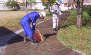 公園清掃9