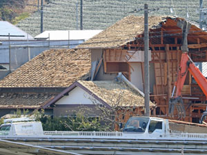 木造2階解体