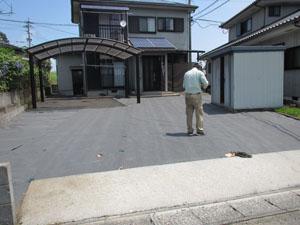 駐車場 リフォーム工事 2