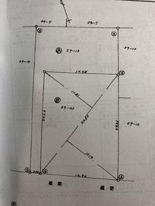 当店のリフォーム施工図面例