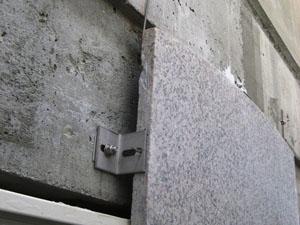 石工事乾式工法について
