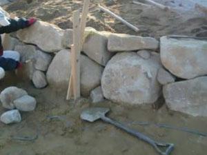 石工事について