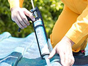 DIYでの防水工事について