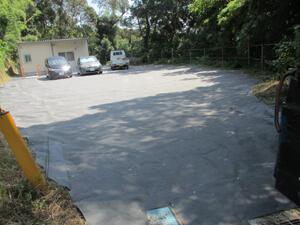 コンクリート舗装「完成」