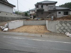 駐車場工事 完成2