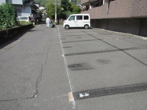 駐車場工事 施工前