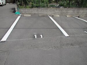 駐車場工事 施工後