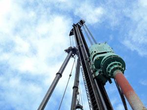 鋼管杭工法について