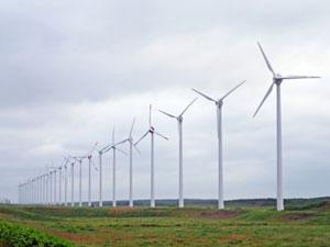 風力発電工事における土木造成