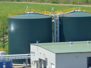 バイオガス発電の工事について
