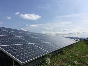 霧島市 メガソーラー 発電量回復 洗浄