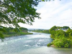 小水力発電所 河川