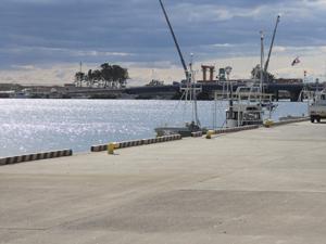 弊社の港湾工事