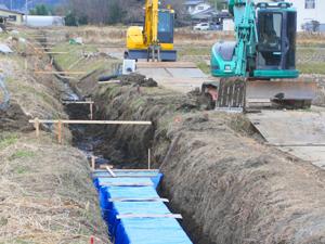 水路工事の種類