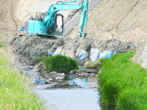 鹿児島の川と共存するための河川工事