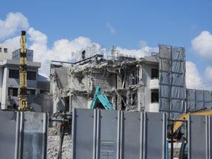 仮設工事は建築現場のサポート作業