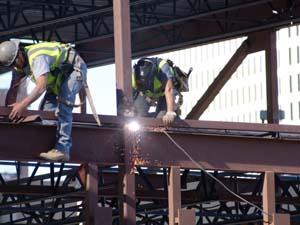 鉄骨工事の工法