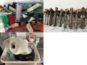 特殊なアイテム 設備の運び出し 台所の片づけ